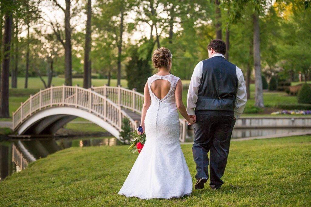 outdoor wedding venue, williamsburg, va